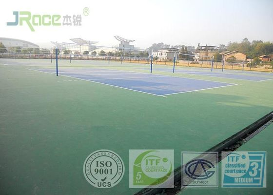 Acrylic Acid International Sports Surfaces Sistem Flooring Olahraga Partikel Gratis