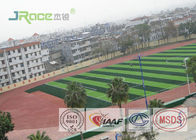 Cina Full Pur Jogging Track Flooring Outdoor Sport Surface Weather Resistant perusahaan