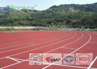 Kenakan Tahan Peluncuran Track Flooring Permeable For Outdoor Stadium